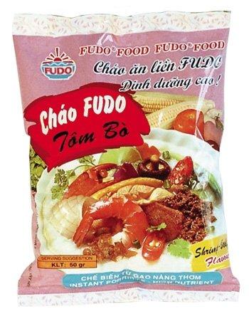 Shrimp-Beef flavour instant porridge