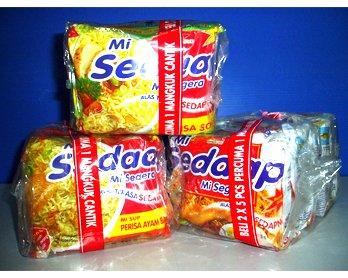 Mi Sedaap Perisa Sotong Halal Instant Noodle