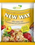 New way - Noodles with sauce: Hot & sour flavour