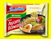 Indomie rasa Ayam Bawang (Chicken Onion Flavor Noodle Soup)