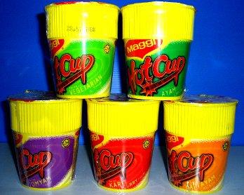 Maggi Hot Cup Halal Instant Noodle