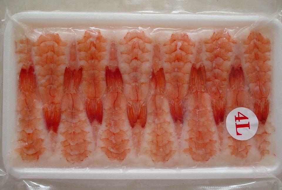 Sushi vannamei shrimp