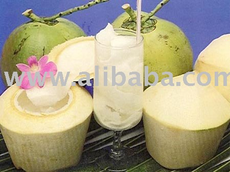 Fresh Delicious Young Coconut