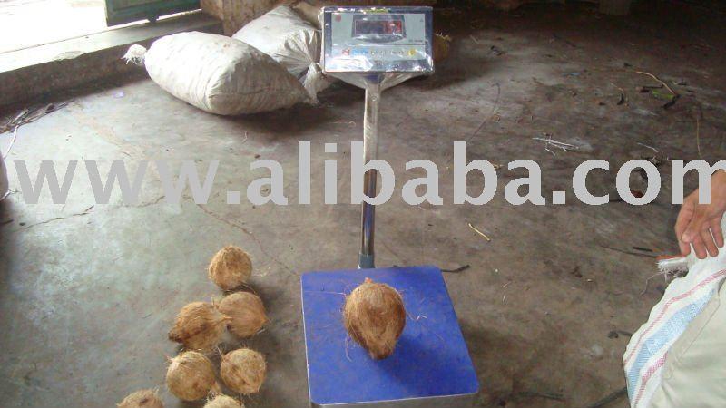 full-husked matured coconut