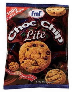 Choc Chip Lite cookie