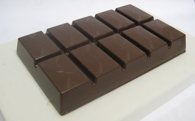 Chocolate Compound Block