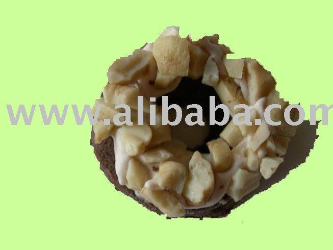 Choco Ring Peanut Cookies