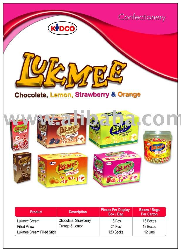 Lukmee Wafer Pillows & Sticks
