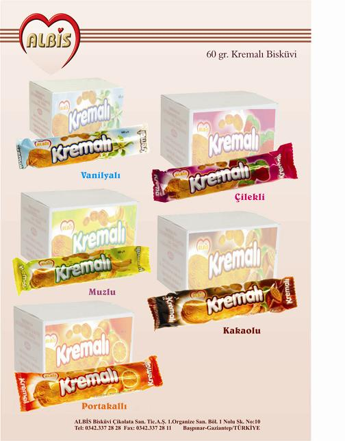 Cream Biscuits 60gr