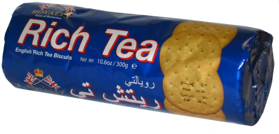 Royalty Rich Tea Biscuits