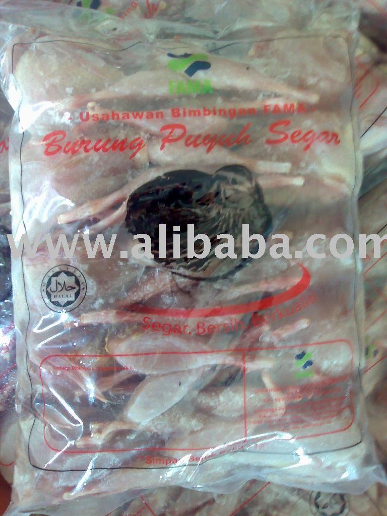 Puyuh Frozen@ Frozen Quail Meat