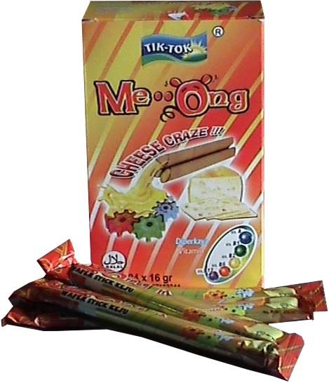 Meong Cheese Waffer Stick