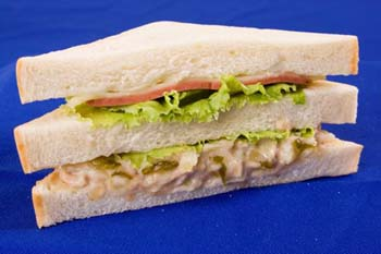 Tuna & Cheese Sandwich