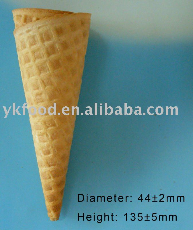 Ice cream sugar cone