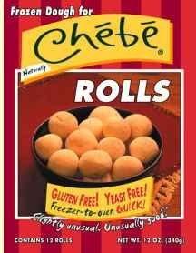 Chebe Frozen cheesy rolls
