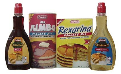 Maple And Vanilla Syrup, Pancake Mixes