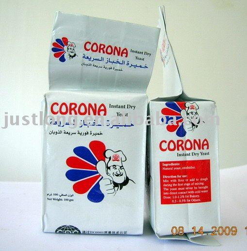 Instant dry yeast 100g----20kg