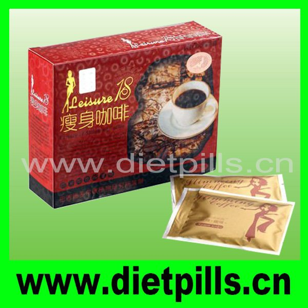 2011 Authentic & Original Leisure 18 slimming coffee +free shipping