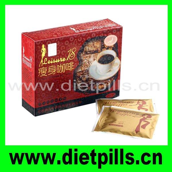 Original Leisure 18 diet coffee slimming diet