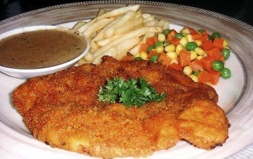 Breadcrumb Chicken Chop