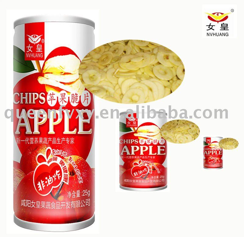 The best sell product/snack/apple chips