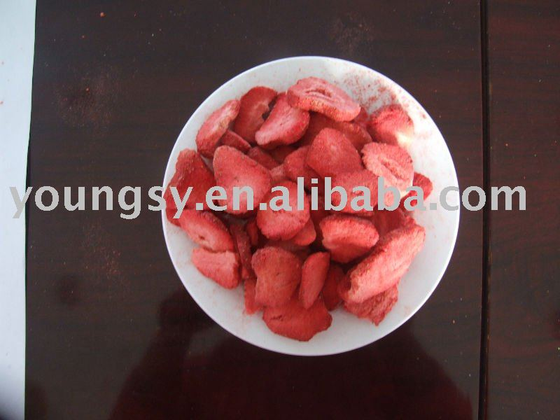 Freeze Drying Strawberries Freeze Dried Strawberry Slice