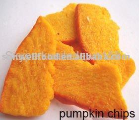 Low Temperature Vacuum Fried Pumpkin Crisp--Healthy Snacks
