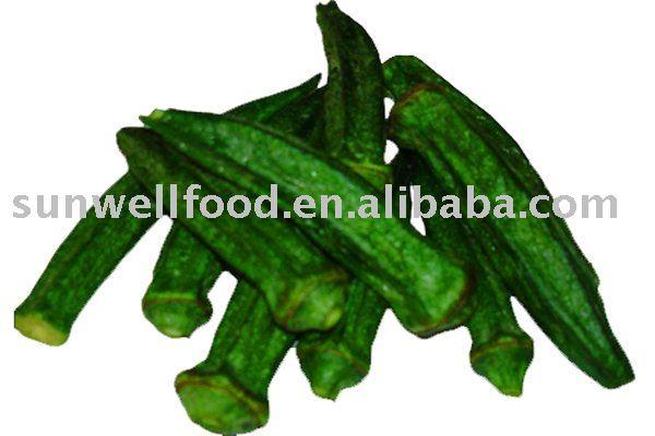 Okra Chips--Low Temperature Vacuum Fried Snacks