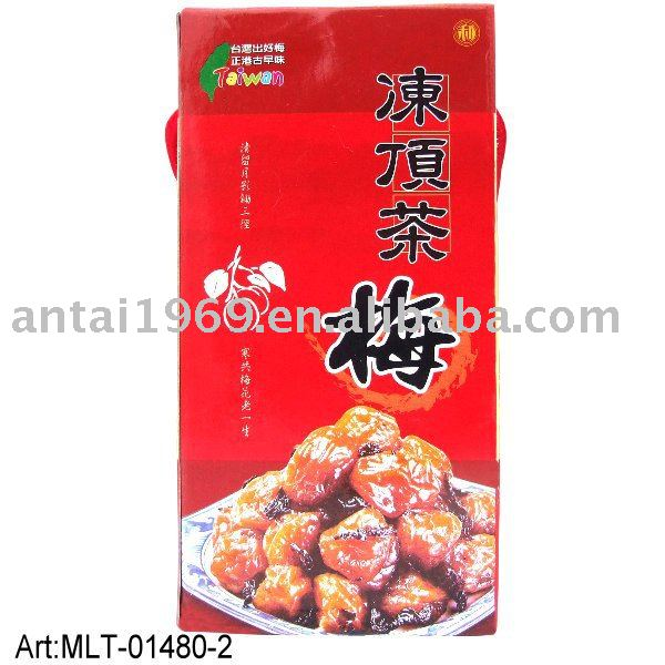 Taiwan dried tea plum delicious snacks