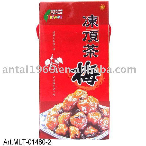Taiwan dried tea plum delicious snacks