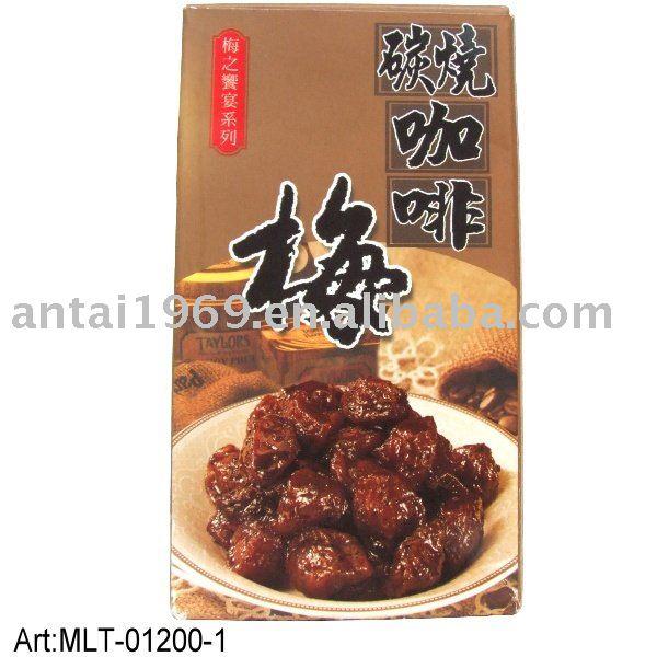 preserved prune Taiwan coffee plum