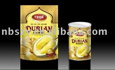Vacuum dried durian
