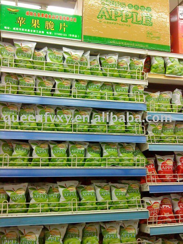 Snack for supermarket( apple chips)