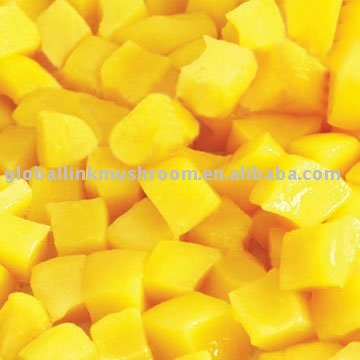canned fruit (yellow peach)