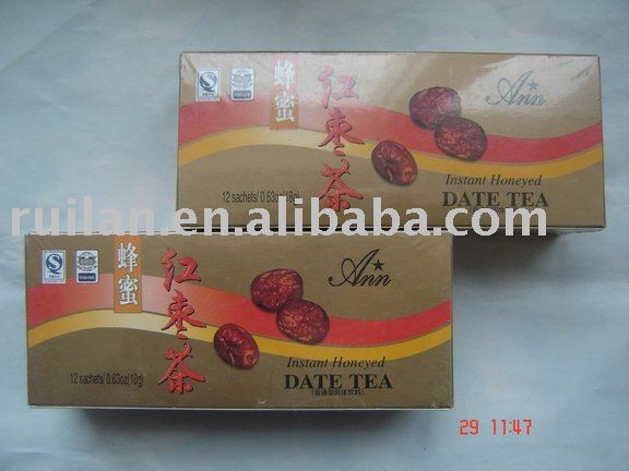 instant honeyed date tea