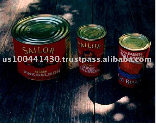 SAILOR Alaska pink salmon canned salmon fish