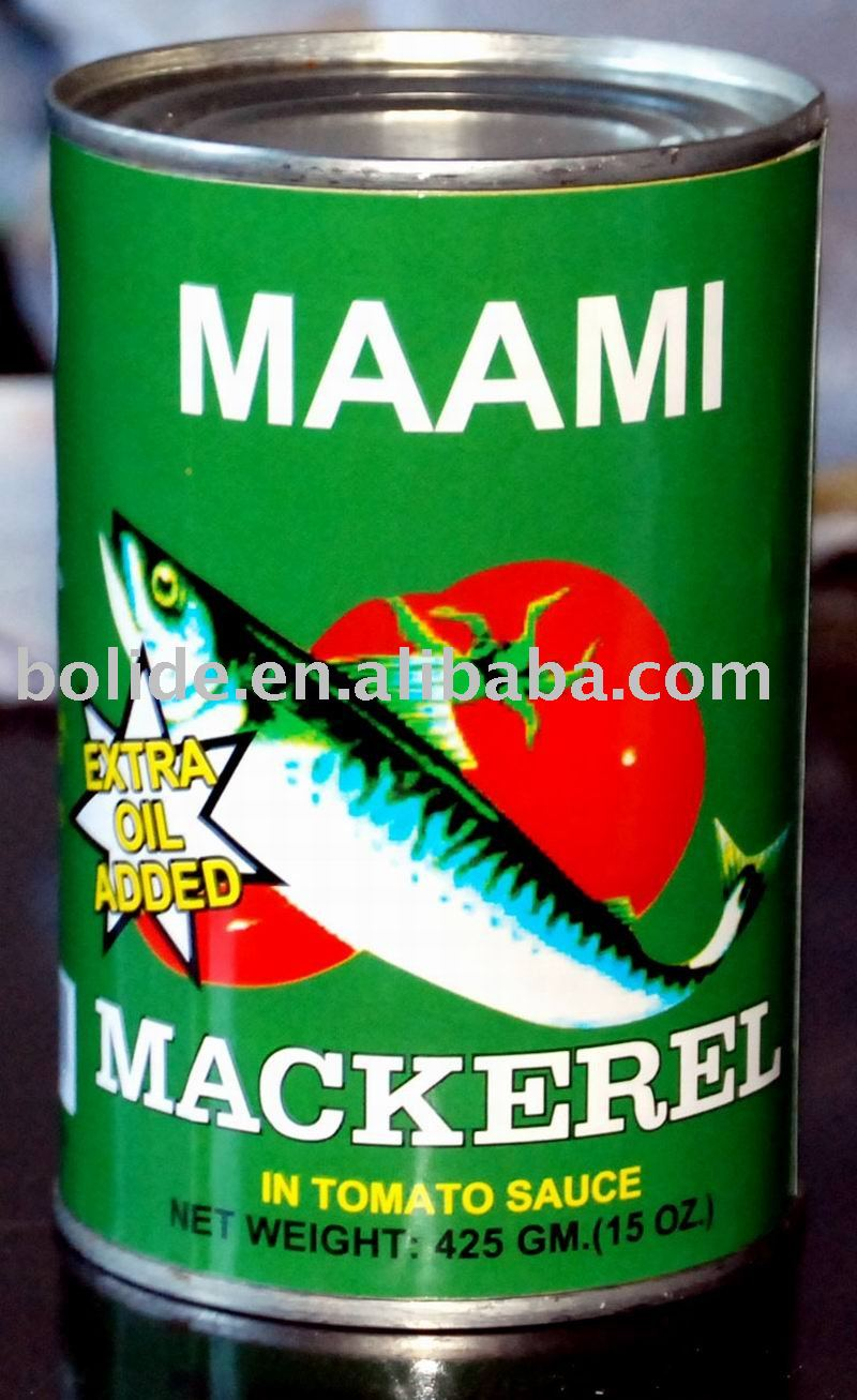 Canned mackerel canned fish products china canned for Fishpond products