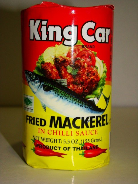 King Car Canned Fried Mackerel