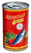 canned fish:Sardines in Tomato Sauce