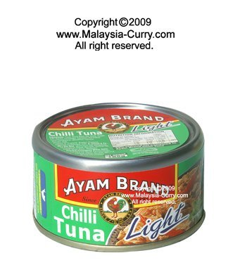 AYAM BRAND - can -Chilli Tuna Light
