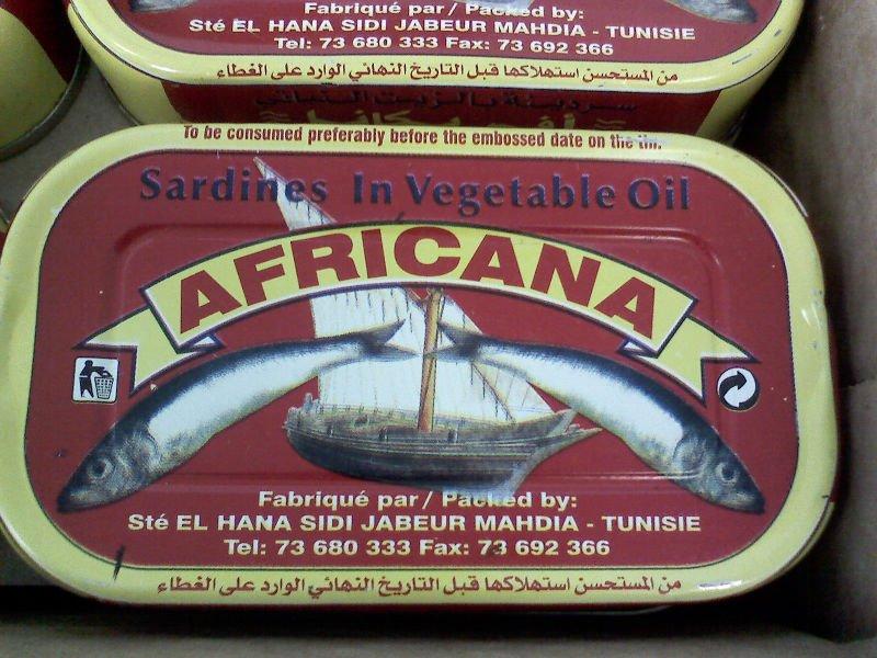 Tunisian canned sardine in vegetable oil 125 gr products,Tunisia Tunisian canned sardine in ...