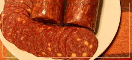 meat processing product- summer sausage
