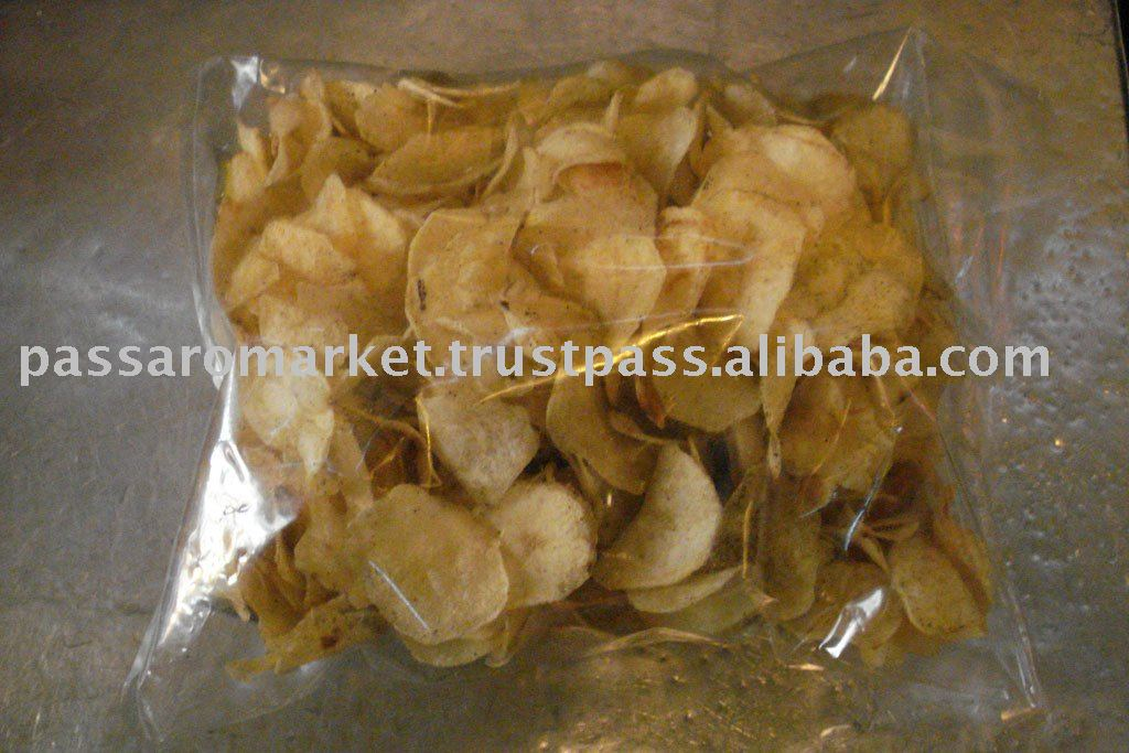 Traditional Indian Snacks - Potato Chips