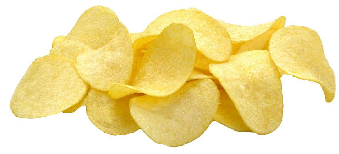 Potato chips -crisp