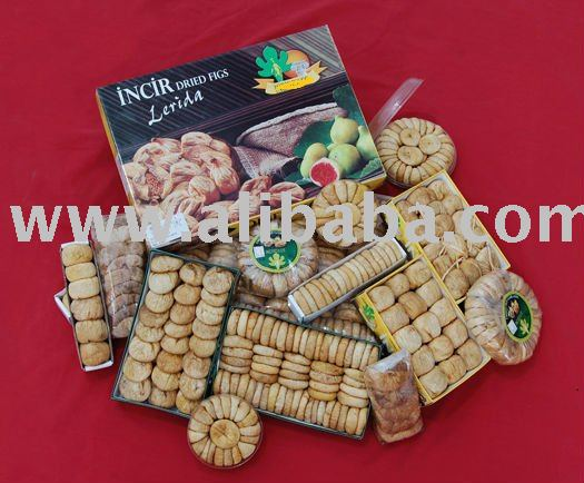 White Sun Dried Figs