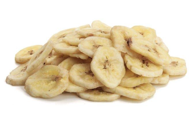 Natural Vacuum Dried Banana Chip