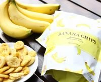 Vacuum Fried-Dried-Banana Chips