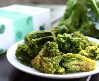 Vacuum Fried-Dried-Broccoli Chips