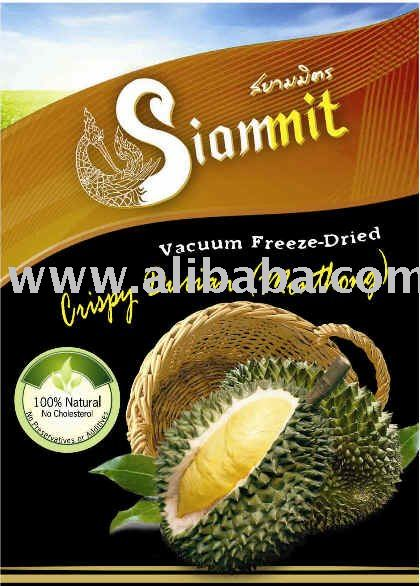 Vacuum Freeze-Dried Durian