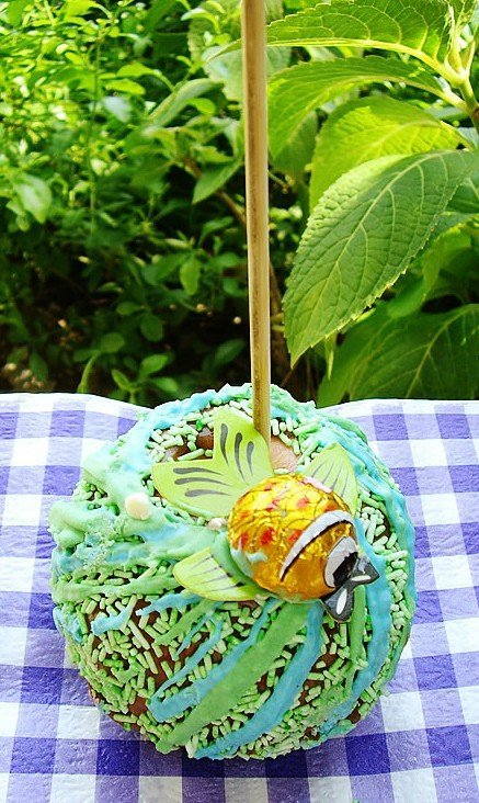 sweet desserts -Goldfish